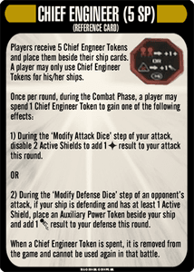 Star Trek: Attack Wing – Chief Engineer Resource