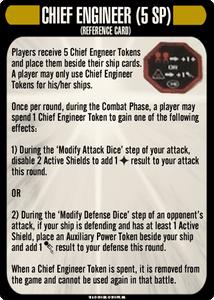 Star Trek: Attack Wing – Chief Engineer Resource