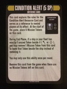 Star Trek: Attack Wing – Condition Alert Resource