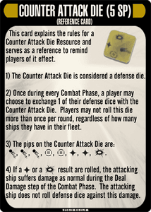 Star Trek: Attack Wing – Counter Attack Die Resource