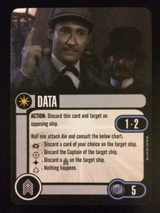 Star Trek: Attack Wing – Data