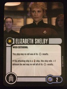 Star Trek: Attack Wing – Elizabeth Shelby