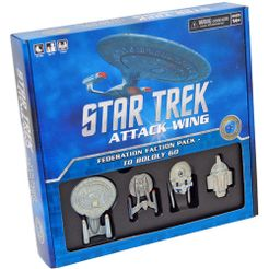 Star Trek: Attack Wing – Federation Faction Pack: To Boldly Go...