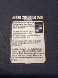Star Trek: Attack Wing – Fleet Commander Resource