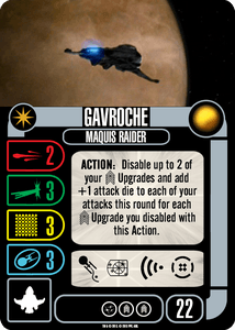 Star Trek: Attack Wing – Gavroche Independent Expansion Pack