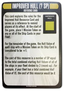 Star Trek: Attack Wing – Improved Hull Resource