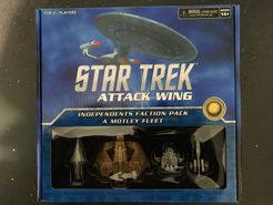 Star Trek: Attack Wing – Independents Faction Pack: A Motley Fleet
