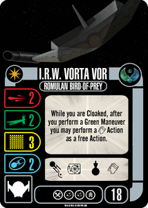 Star Trek: Attack Wing – I.R.W. Vorta Vor: Collective OP Blind Booster Pack