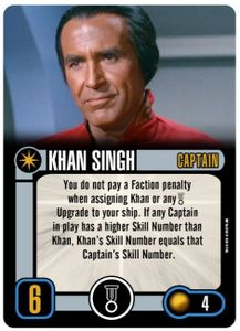 Star Trek: Attack Wing – Khan Singh