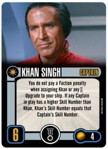 Star Trek: Attack Wing – Khan Singh