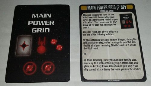 Star Trek: Attack Wing – Main Power Grid Resource