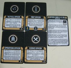 Star Trek: Attack Wing – Officer Cards Resource