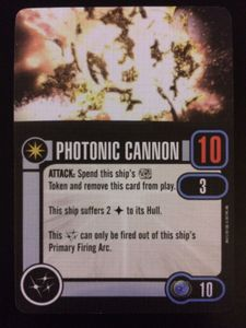 Star Trek: Attack Wing – Photonic Cannon