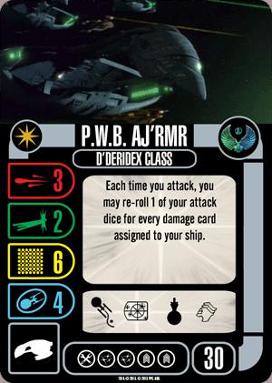 Star Trek: Attack Wing – P.W.B. Aj'rmr Expansion Pack