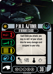 Star Trek: Attack Wing – P.W.B. Aj'rmr Expansion Pack