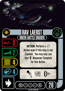 Star Trek: Attack Wing – Rav Laerst Expansion Pack