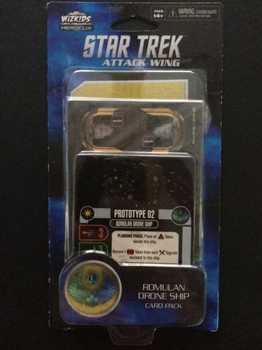 Star Trek: Attack Wing – Romulan Drone Ship Card Pack