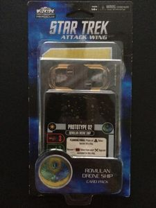 Star Trek: Attack Wing – Romulan Drone Ship Card Pack