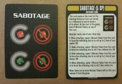 Star Trek: Attack Wing – Sabotage Cards