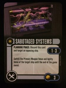 Star Trek: Attack Wing – Sabotaged Systems