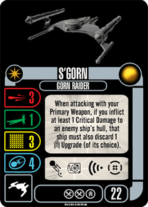Star Trek: Attack Wing – S'Gorn Expansion Pack