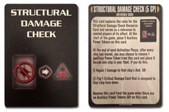 Star Trek: Attack Wing – Structural Damage Check Resource