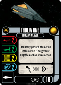 Star Trek: Attack Wing – Tholia One Expansion Pack