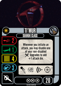 Star Trek: Attack Wing – Ti'Mur Vulcan Expansion Pack