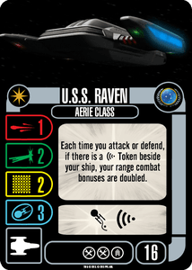 Star Trek: Attack Wing – U.S.S. Raven Expansion Pack
