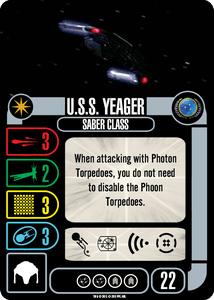 Star Trek: Attack Wing – U.S.S. Yeager Expansion Pack