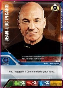Star Trek Deck Building Game: Alternate Effect Captain Picard Promo