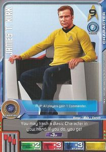 Star Trek Deck Building Game: James T. Kirk Promo