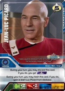 Star Trek Deck Building Game: Jean-Luc Picard Promo