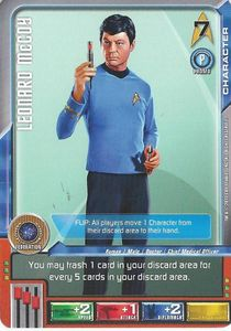 Star Trek Deck Building Game: Leonard McCoy Promo