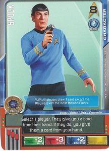 Star Trek Deck Building Game: Spock Promo