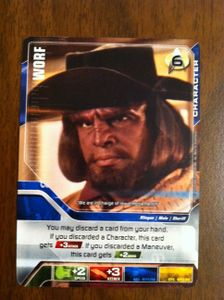 Star Trek Deck Building Game: Worf Promo