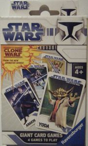 Star Wars Clone Wars: Giant Card Games