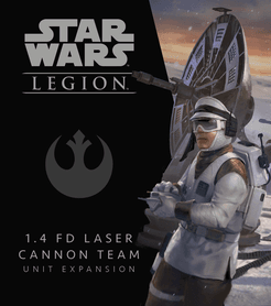 Star Wars: Legion – 1.4 FD Laser Cannon Team Unit Expansion