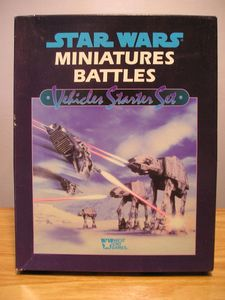 Star Wars Miniatures Battles: Vehicles Starter Set