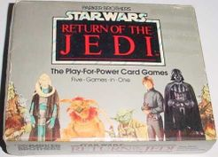 Star Wars: Return of the Jedi – The Play-for-Power Card Games