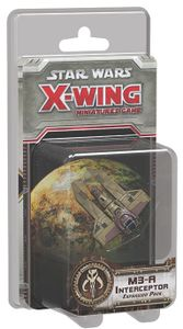 Star Wars: X-Wing Miniatures Game – M3-A Interceptor Expansion Pack