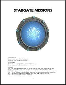 Stargate Missions