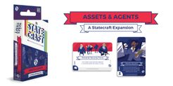 Statecraft: The Political Card Game – Assets & Agents