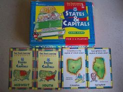 States & Capitals Card Game