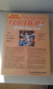 Statis Pro Football AFC/NFC Player Cards