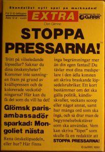 Stoppa pressarna!