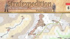 Strafexpedition 1916: Valsugana Map