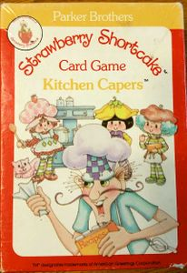 Strawberry Shortcake Card Game Kitchen Capers