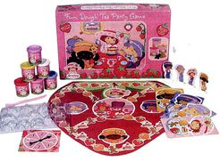 Strawberry Shortcake Fun Dough Tea Party Game