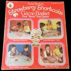 Strawberry Shortcake Game Basket